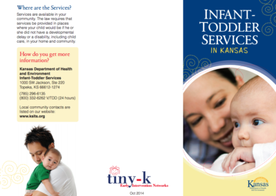 Infant-Toddler Services in Kansas Brochure