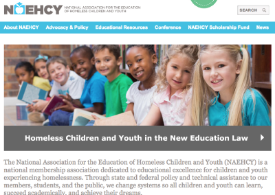 National Association for the Education of Homeless Children and Youth (NAEHCY)