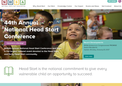 National Head Start Association (NHSA)