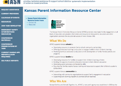 Kansas Parent Information Resource Center