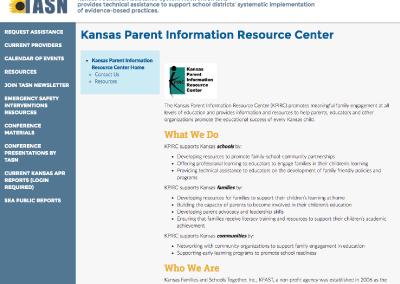 Kansas Parent Information Resource Center