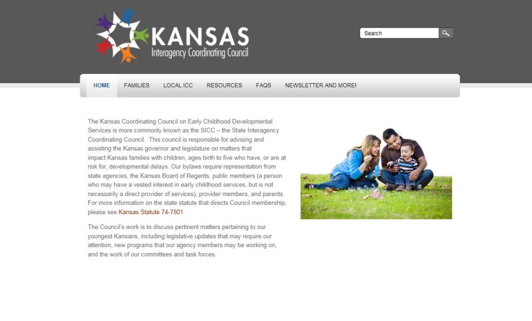 Kansas Coordinating Council on Early Childhood Development Services