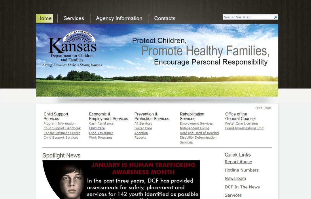 Kansas Department for Children and Families, Economic and Employment Services Division