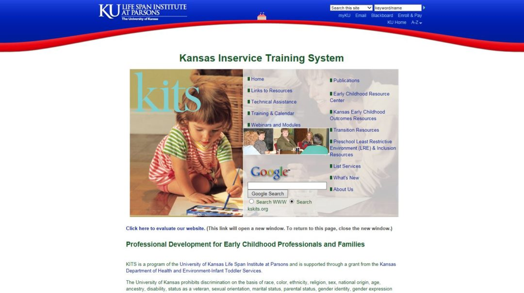 Kansas Inservice Training System (KITS)