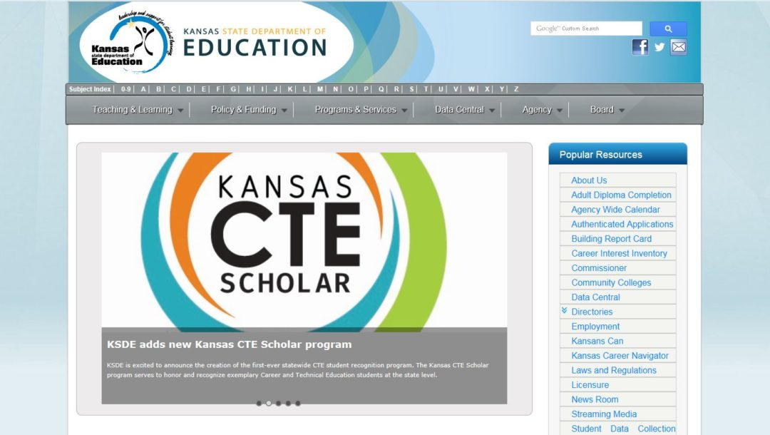 Kansas State Department of Education (KSDE)