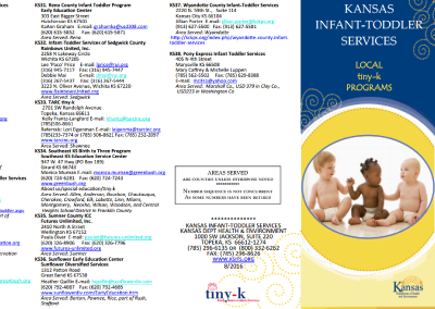 Kansas Infant-Toddler Services – Local tiny-k Programs