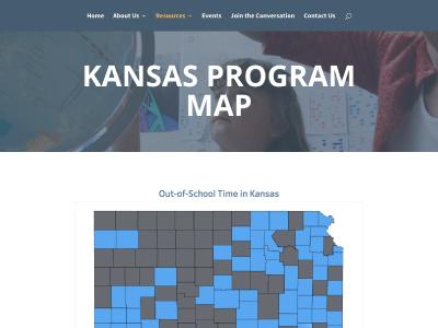 Kansas Enrichment Network – Program Map