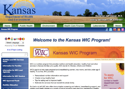 Kansas WIC Program