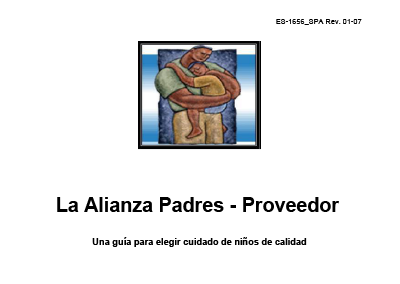 The Parent-Provider Partnership Handbook-Spanish