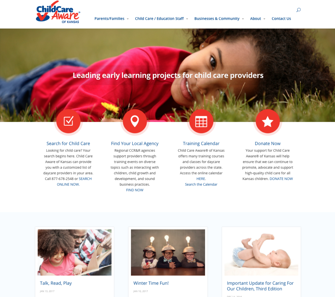 Child Care Resource and Referral Agencies (CCR&R)