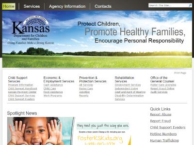 DCF Public Assistance Report