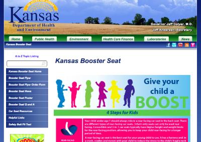 Kansas Booster Seat
