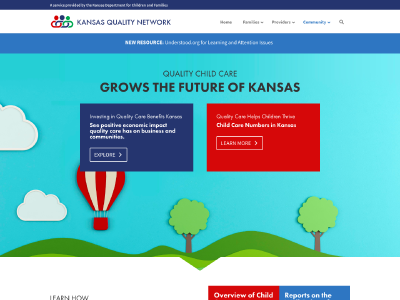 Child Care Numbers in Kansas