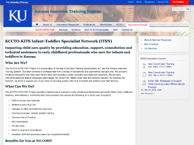 KCCTO-KITS Infant-Toddler Specialist Network (ITSN)