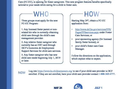 Foster Care – Child Care Flyer