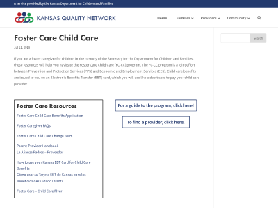 Foster Care Child Care