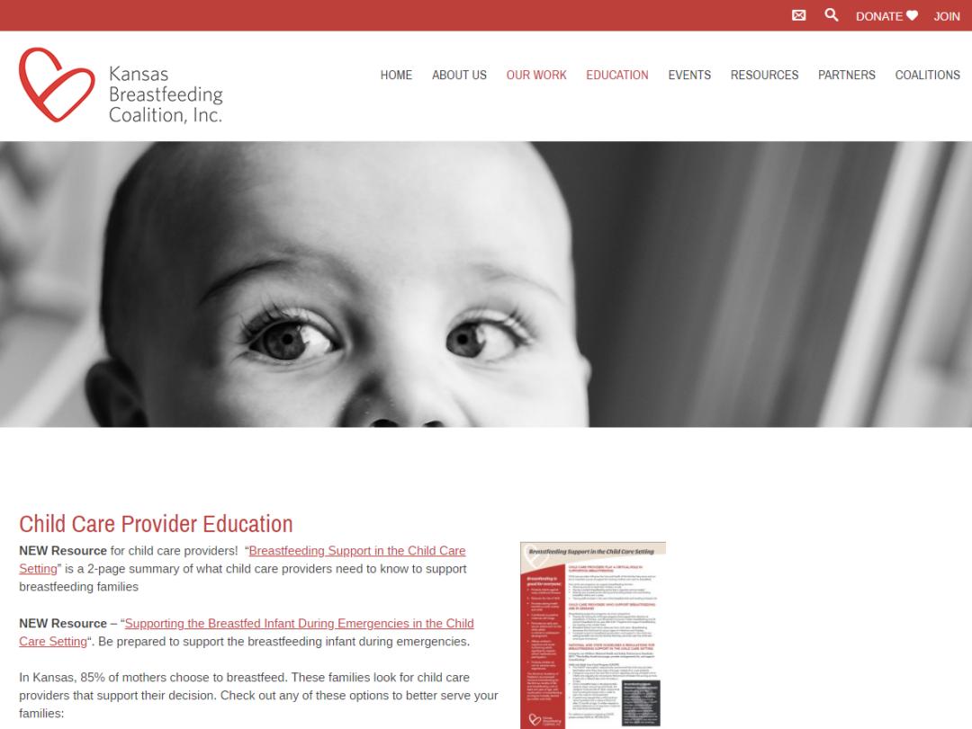 Kansas Breastfeeding Coaltion, Inc