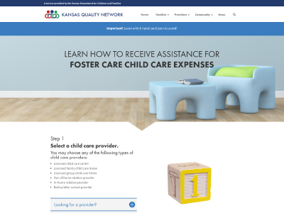 Foster Care Child Care Subsidy